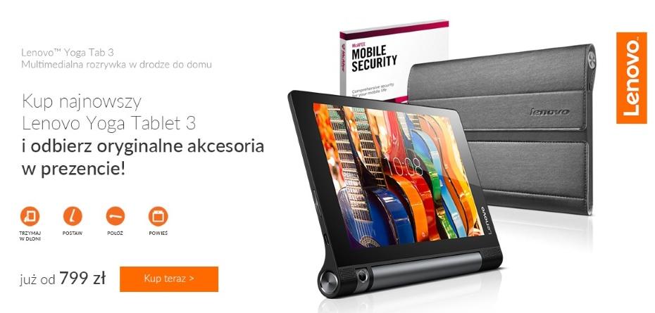 Lenovo Yoga Tablet 3 / fot. X-KOM