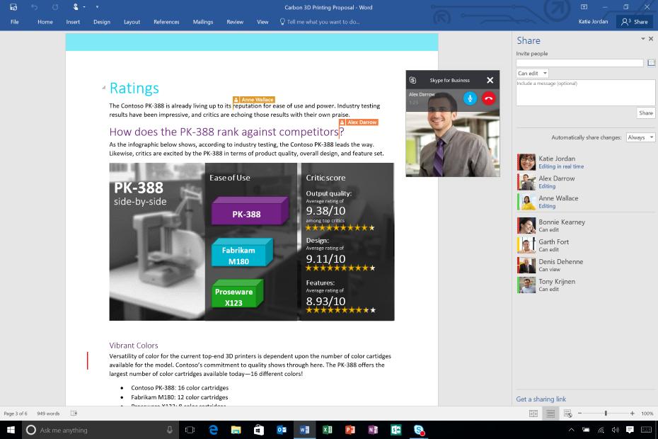 Office 2016 / fot. Microsoft