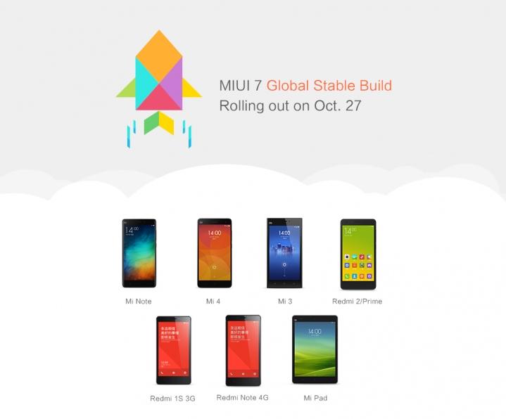 MIUI 7 / fot. Xiaomi Global