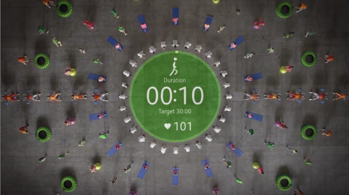 Samsung Gear S2 - reklama