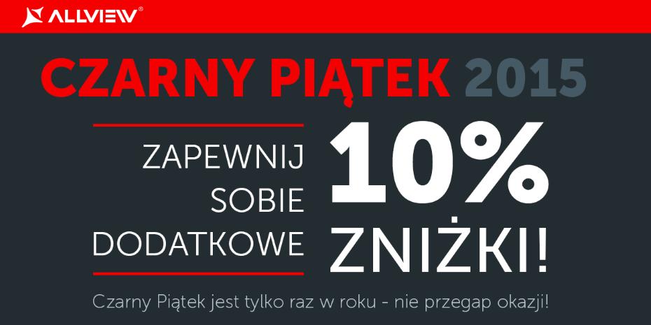 Allview na Czarny Piątek 2015 / fot. Allview
