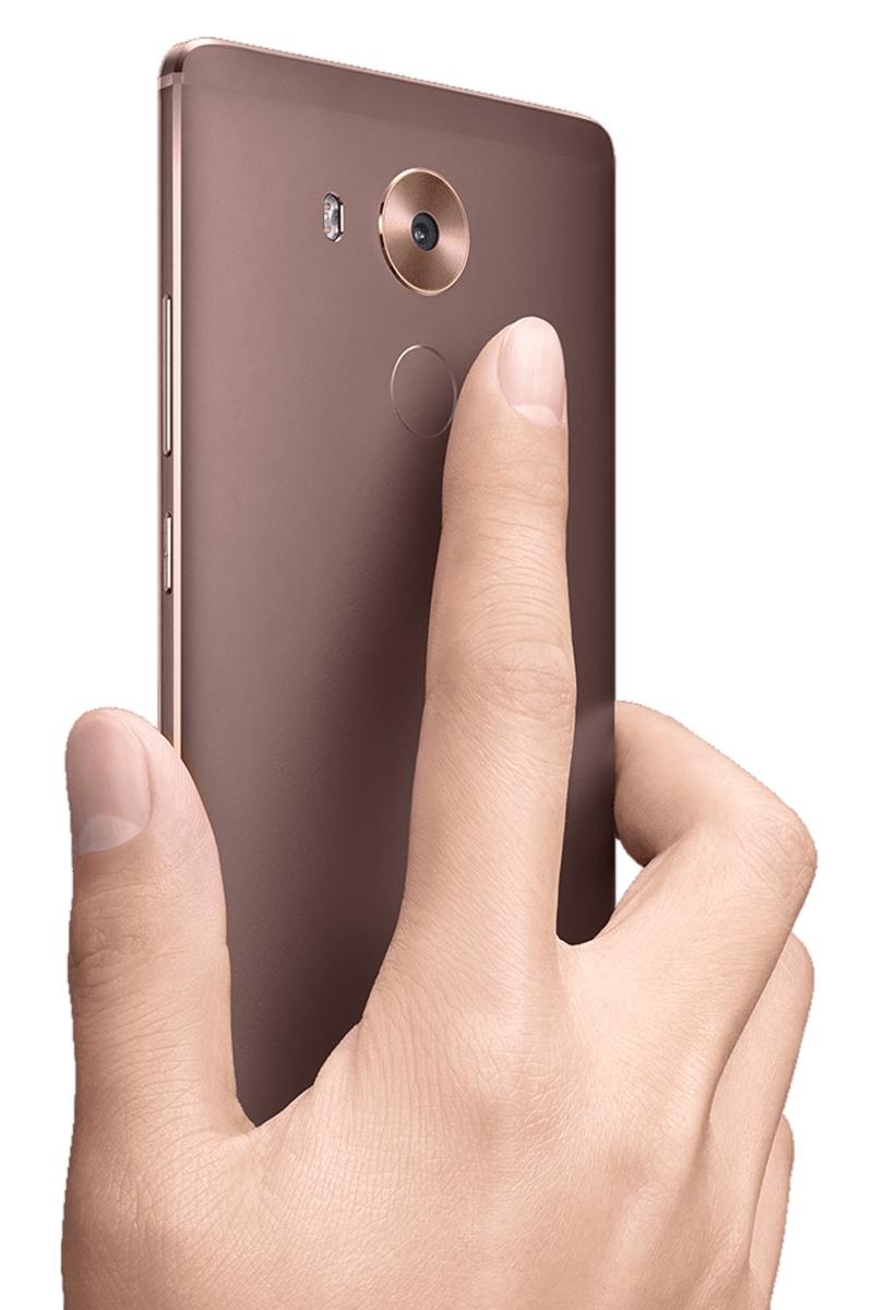 Huawei Mate 8 - czytnik linii papilarnych / fot. Huawei