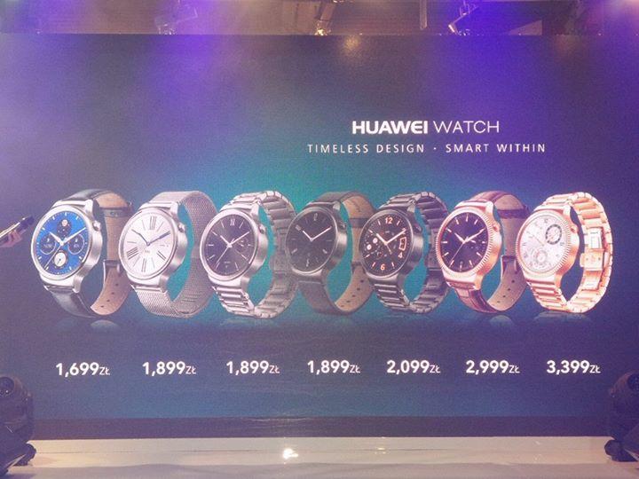 Ceny Huawei Watch w Polsce / fot. mgsm.pl