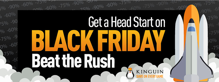 Kinguin w Black Friday / fot. Kinguin