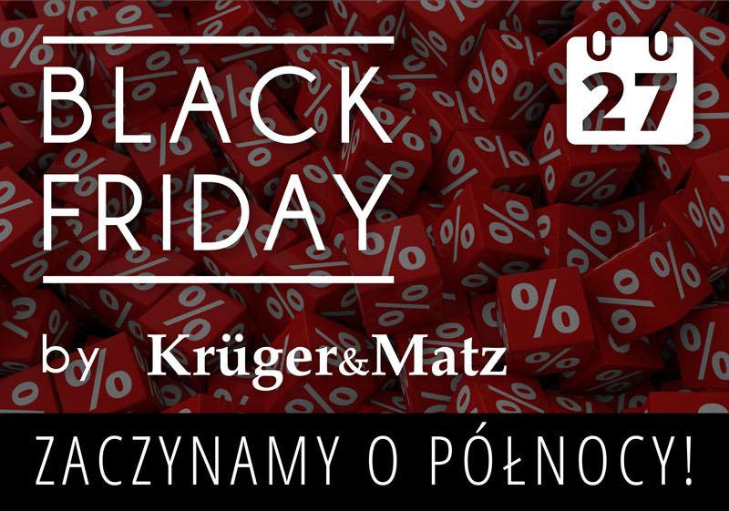 Kruger&Matz na Black Friday / fot. Kruger&Matz