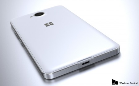 Microsoft Lumia 650 - rendery