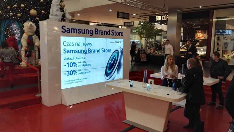Samsung Brand Store w Kielcach - otwarcie / fot. galaktyczny.pl