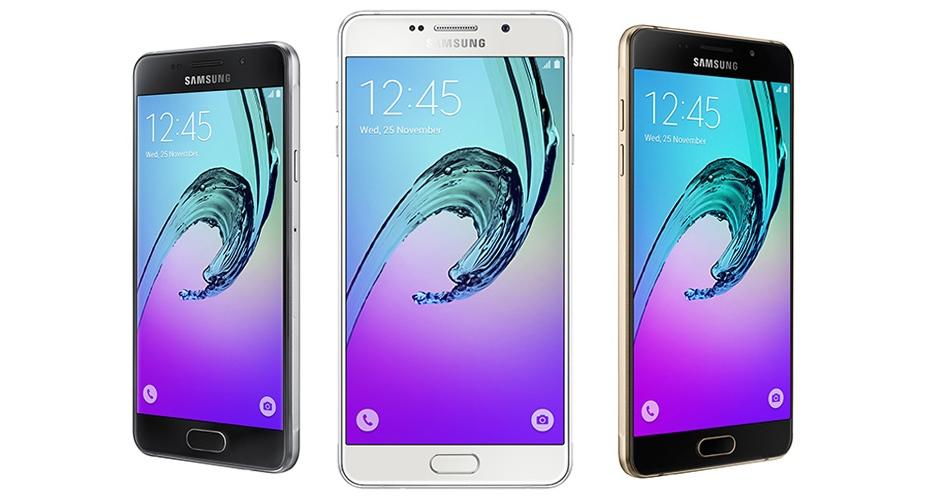 Nowa seria Galaxy A (2016) / fot. Samsung