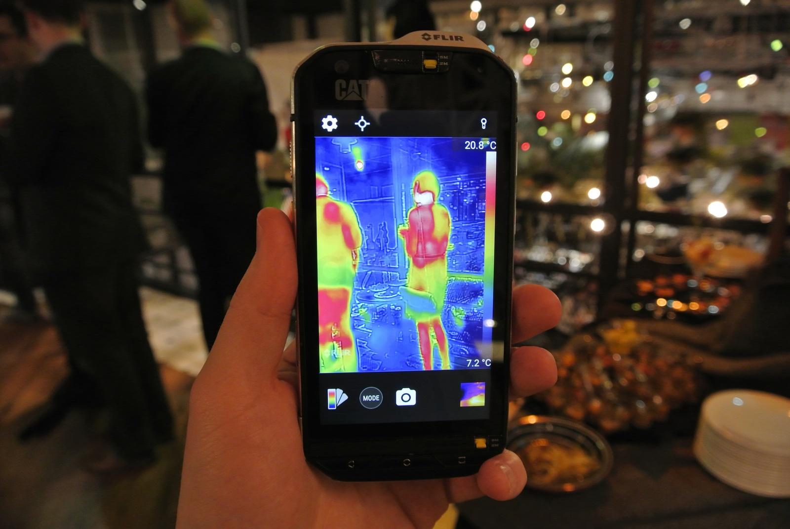 Zjednoczone Królestwo bardzo popularny Nowy Jork CAT S60 - pierwszy smartfon z kamerą termowizyjną