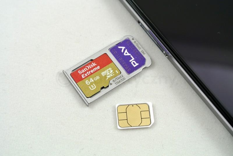 Karta microSD i karta nanoSIM