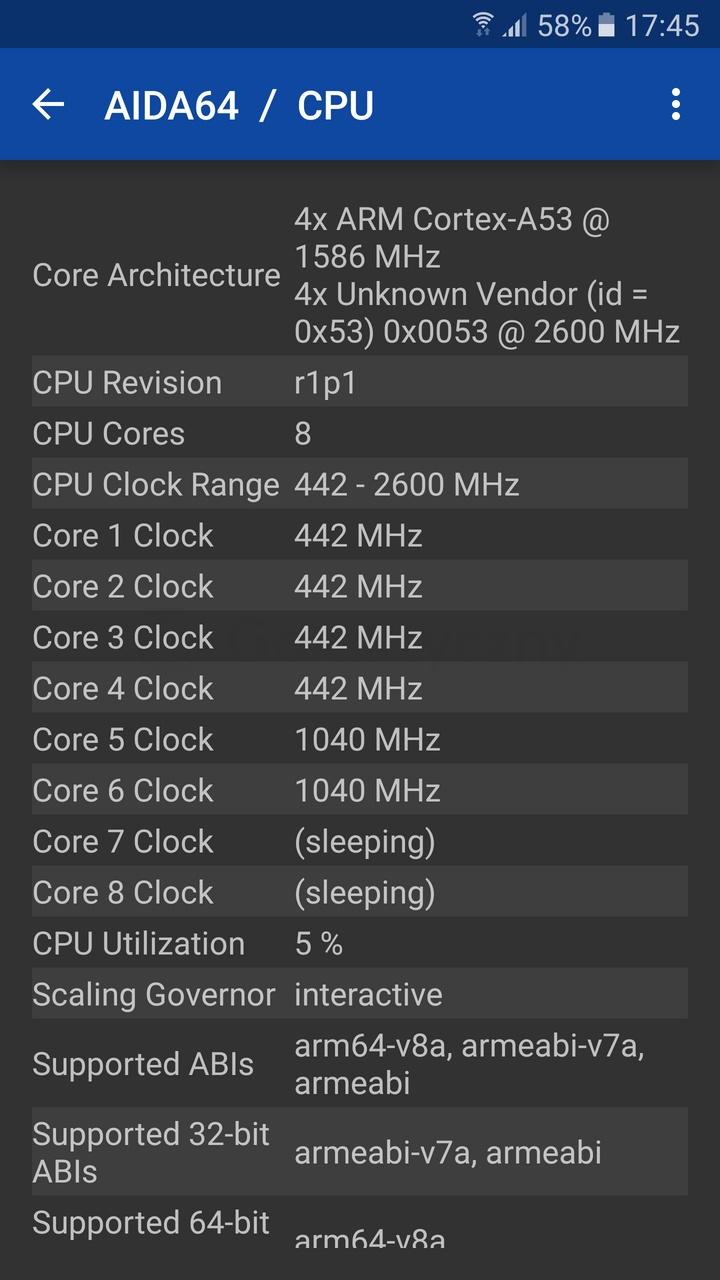 Galaxy S7 - CPU / fot. galaktyczny