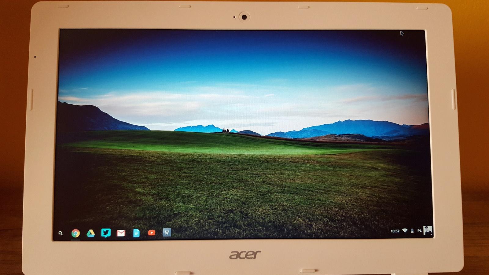 Ekran w Acer Chromebook 11 / fot. galaktyczny