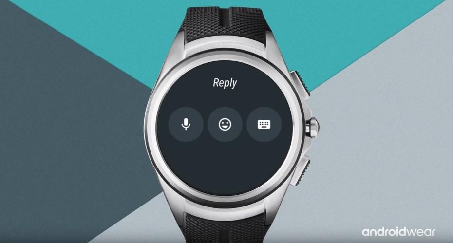 Możliwości odpowiedzi w Android Wear 2.0 / fot. Android
