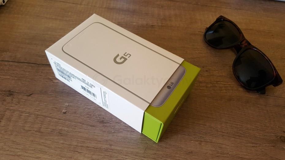 Pudełko od LG G5 / fot. galaktyczny