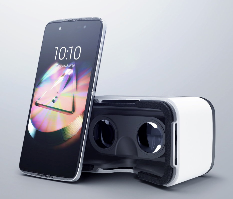 Alcatel Idol 4 i gogle VR / fot. Alcatel