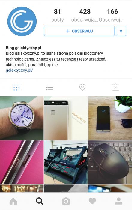 Instagram galaktyczny.pl