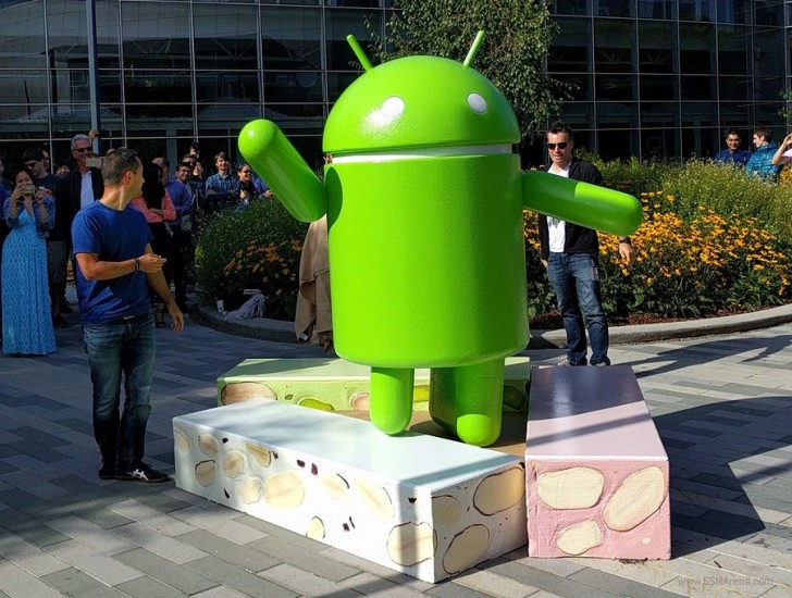 Figura Android Nougat