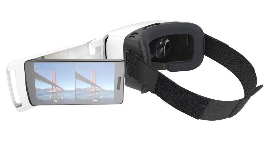 Zeiss VR One Plus i smartfon / fot. vr-one