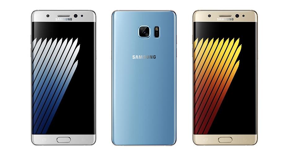 Poznaliśmy wszystkie kolory Samsunga Galaxy Note 7?