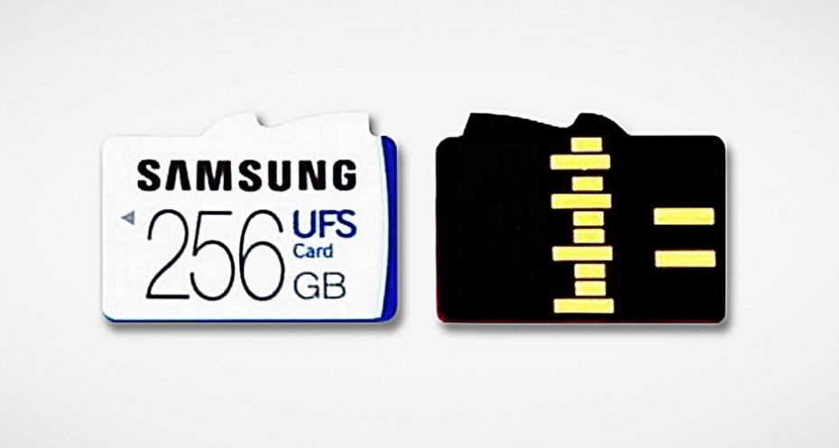 Samsung UFS 1.0 256 GB / fot. Samsung