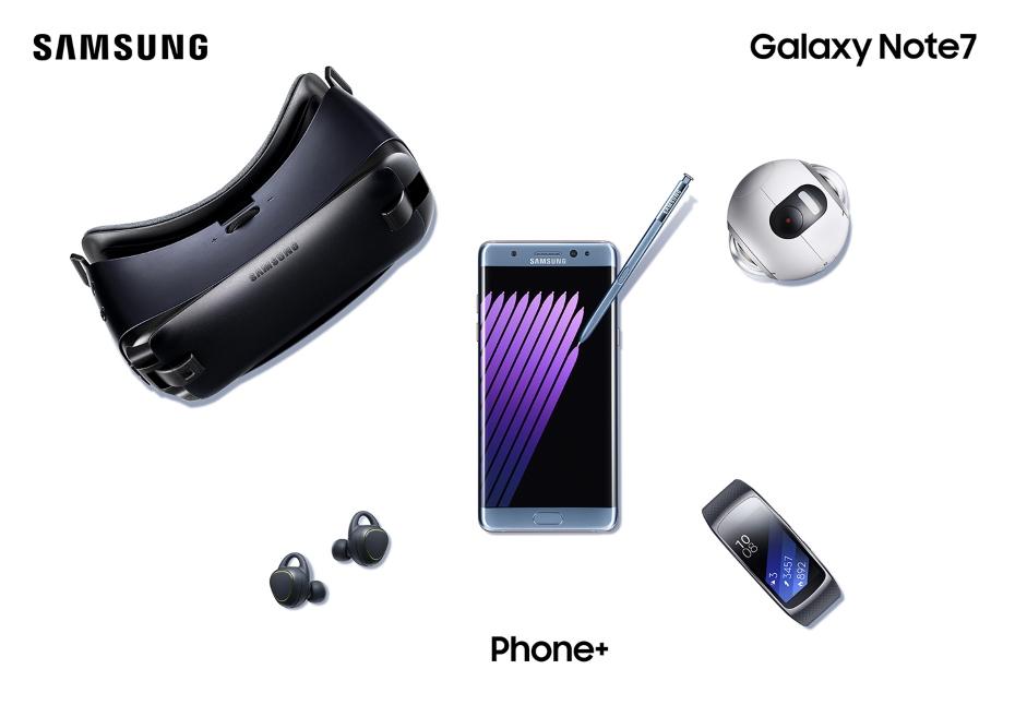 Samsung Galaxy Note 7 i inne urządzenia / fot. Samsung