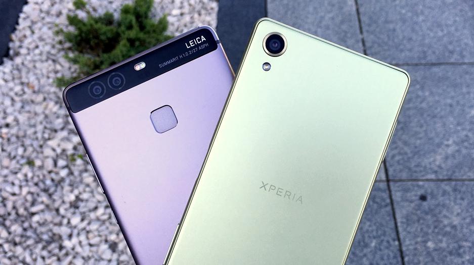 Huawei p9 vs sony xperia x