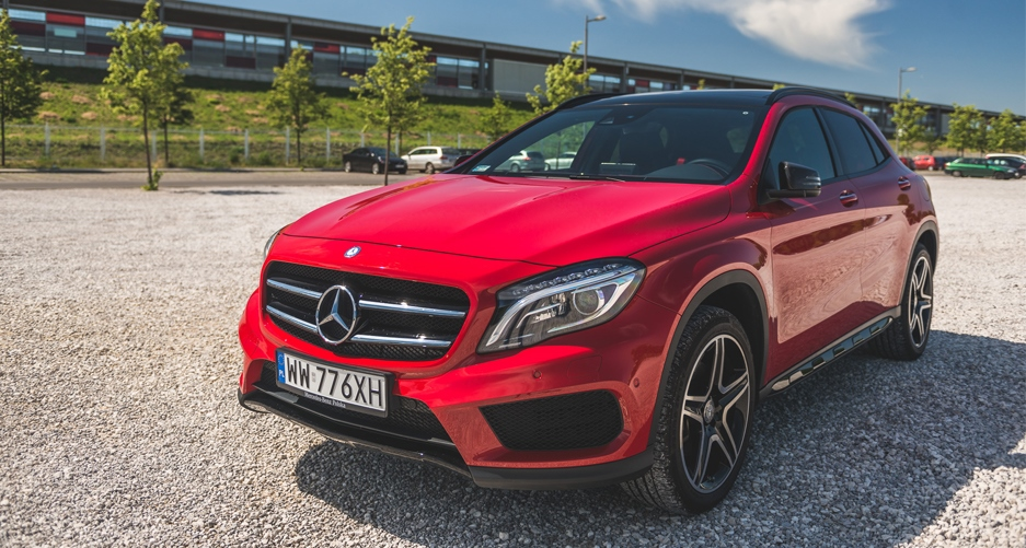mercedes gla 250 4matic test i wra enia z jazdy. Black Bedroom Furniture Sets. Home Design Ideas