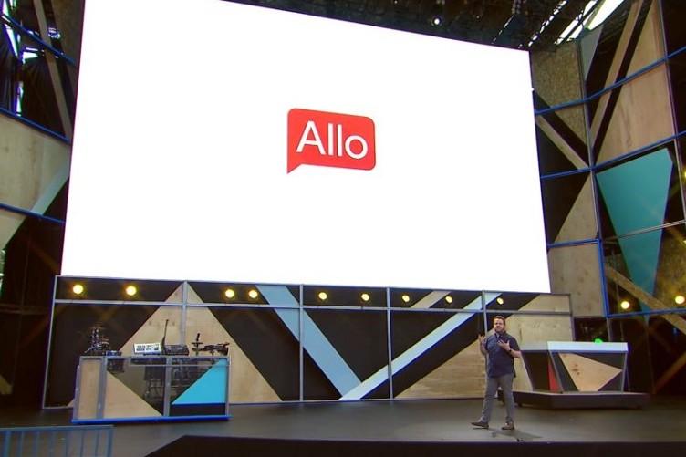 Reklama Allo w czasie konferencji Google I/O / fot. Android Authority