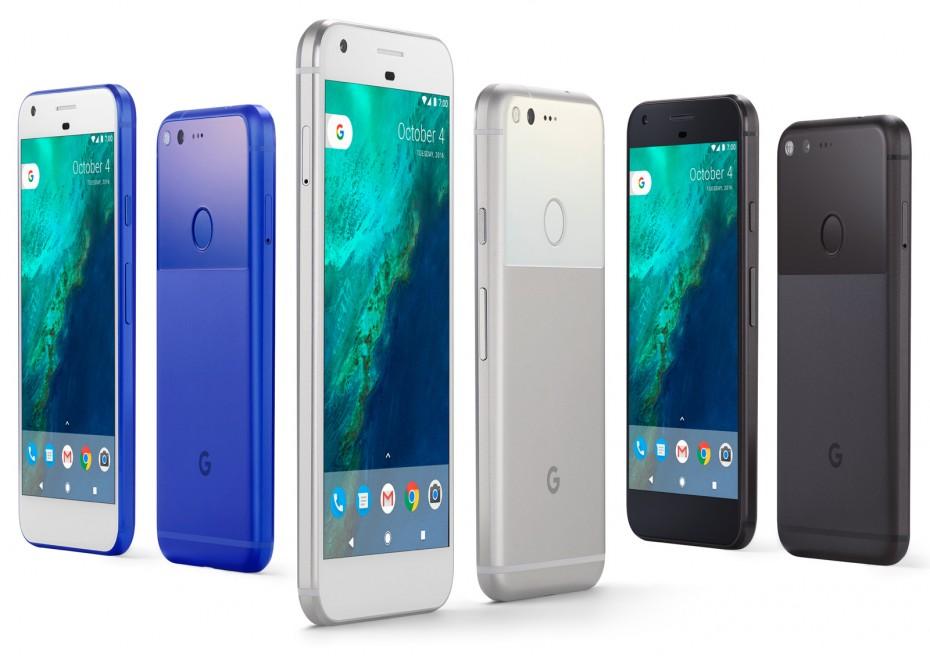 Google Pixel - kolory / fot. Google