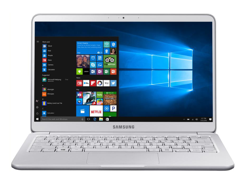 Nowy laptop Samsung