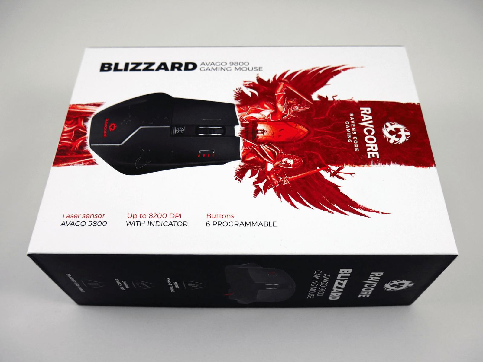 Ravcore Blizzard - Pudełko