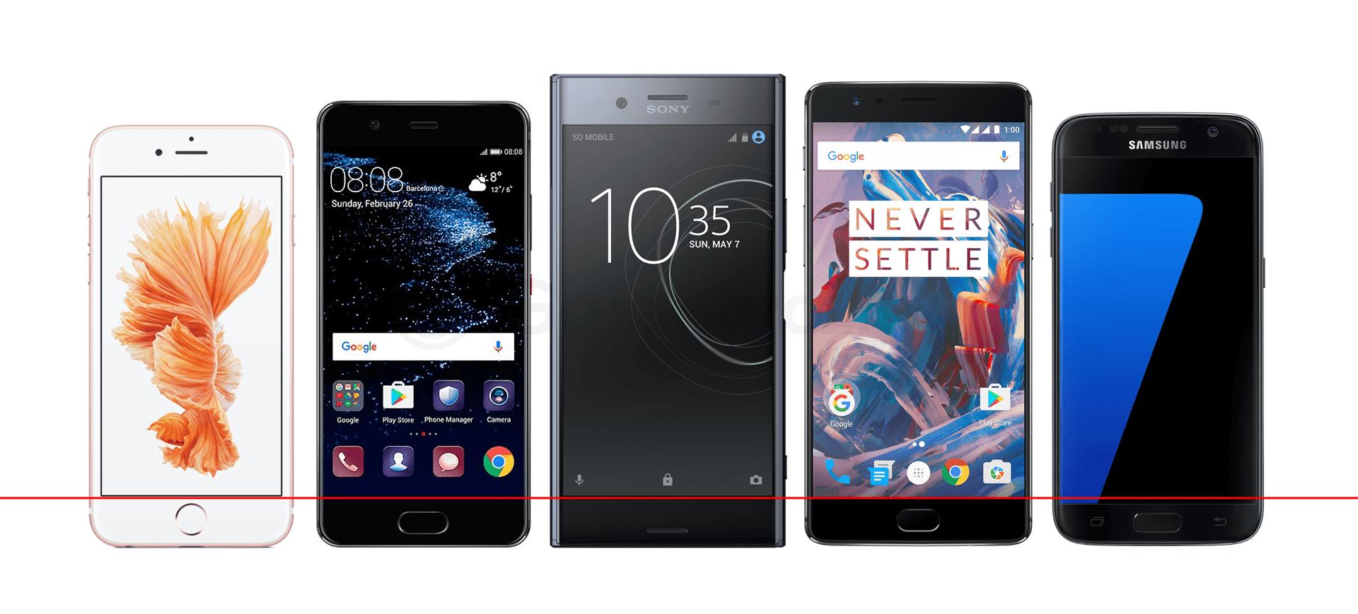 iphone-6s-p10-xperia-xz-premium-oneplus-3t-galaxy-s7-ramki