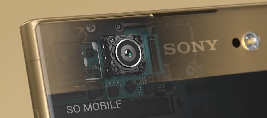 Przedni aparat w Sony Xperia XA1 Ultra