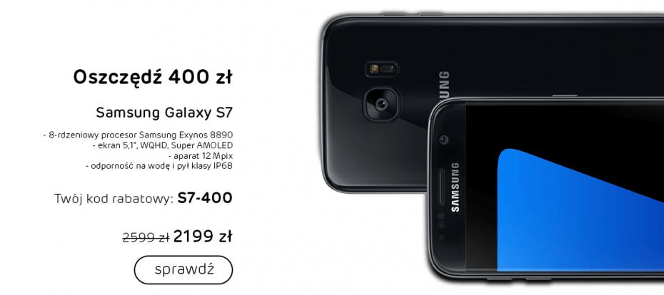 Promocja na Samsunga Galaxy S7 w x-kom