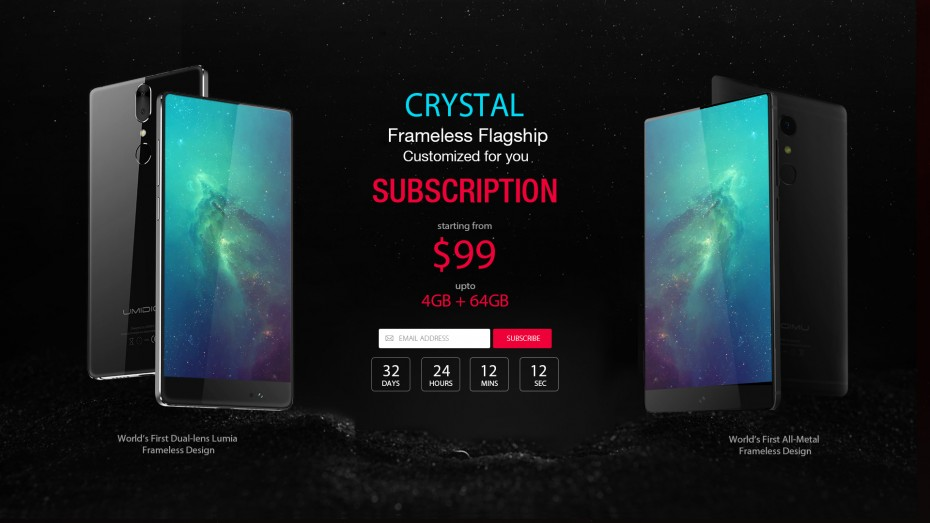 Przedsprzedaż UMIDIGI Crystal