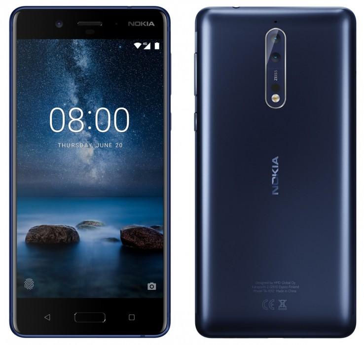 Nokia 8 / fot. evleaks