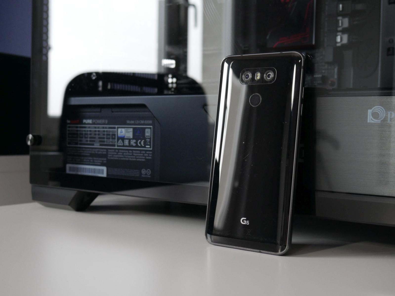LG G6 z tyłu
