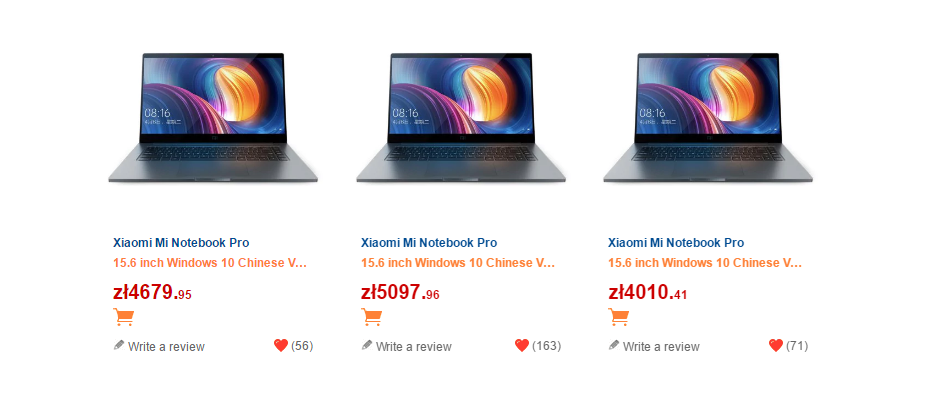 xiaomi-mi-notebook-pro-ceny-pln