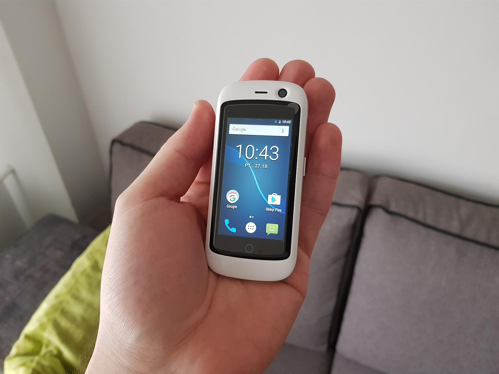 Jelly Pro - najmniejszy smartfon z Androidem