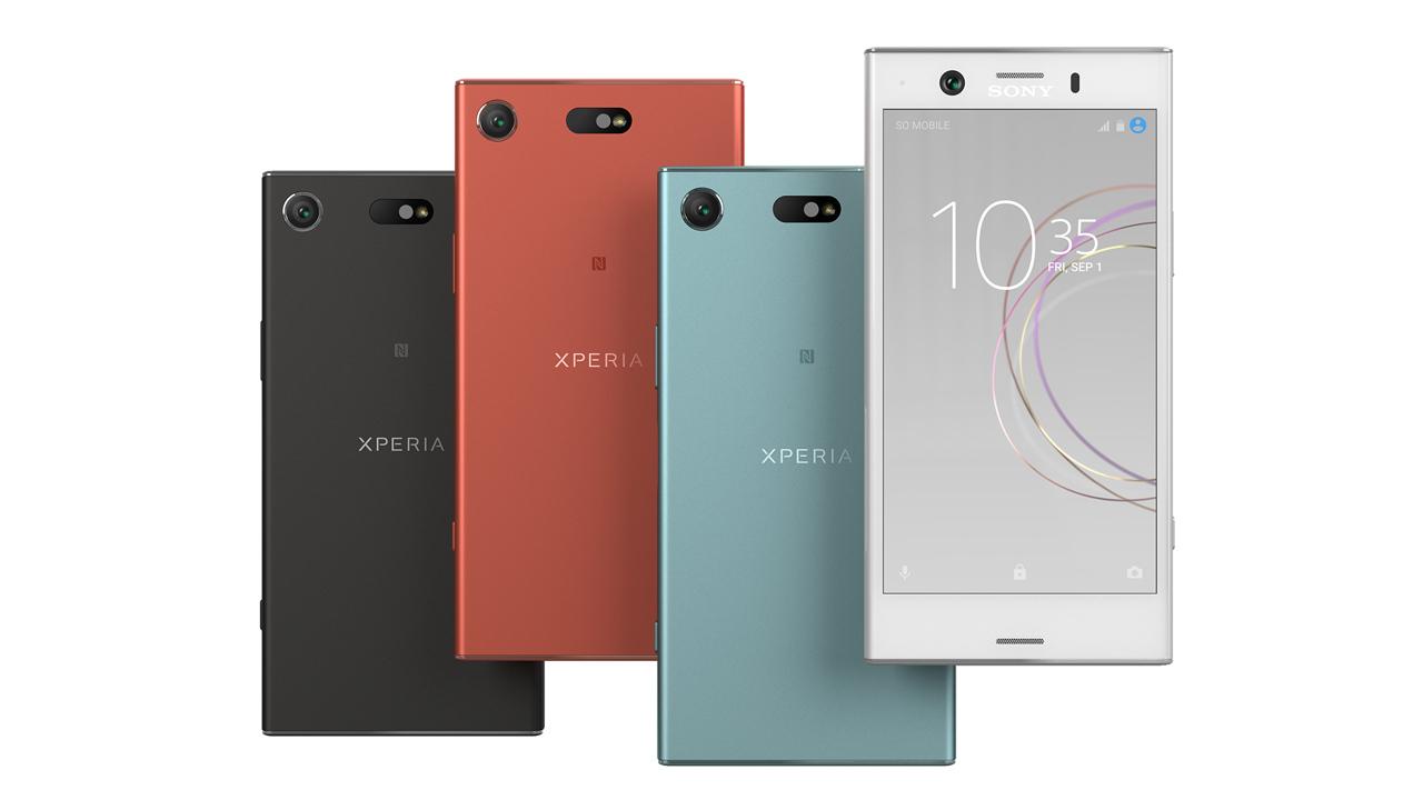 Sony Xperia XZ1 Compact - kolory