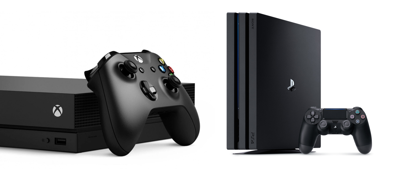 Xbox One X vs PS4 Pro