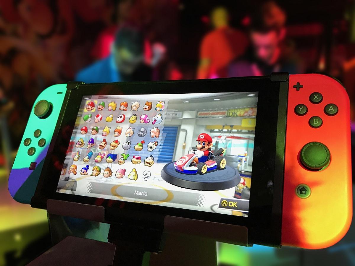 Mario Kart 8 na Nintendo Switch / fot. Pixabay