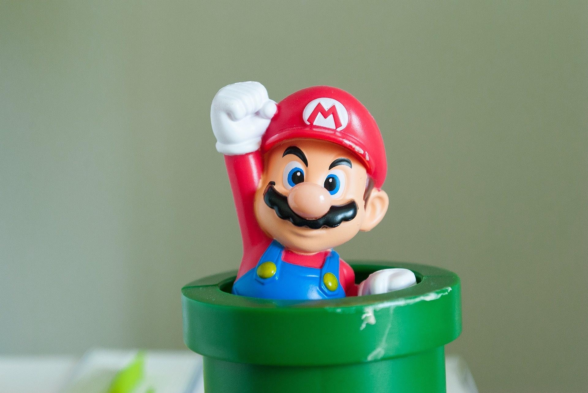 Super Mario / fot. Pixabay