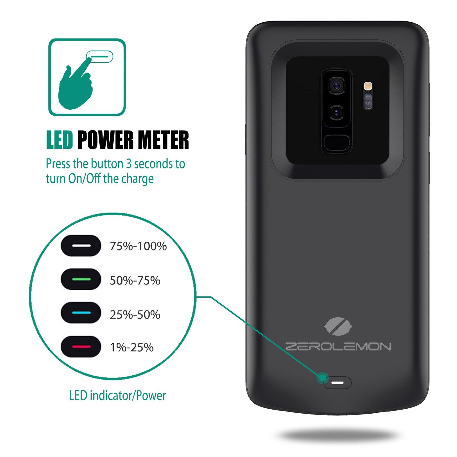 Etui z baterią dla Samsunga Galaxy S9+ / fot. ZeroLemon