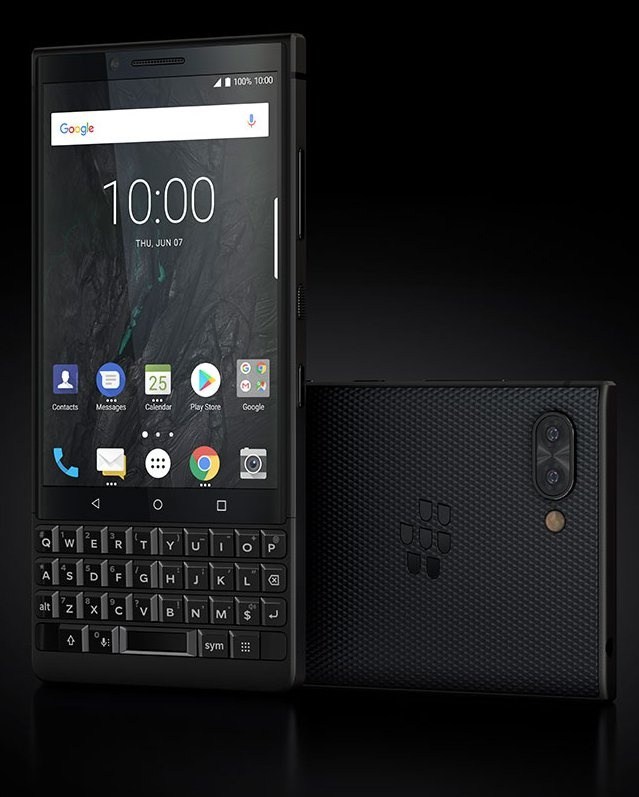 BlackBerry KEY2 - czarny