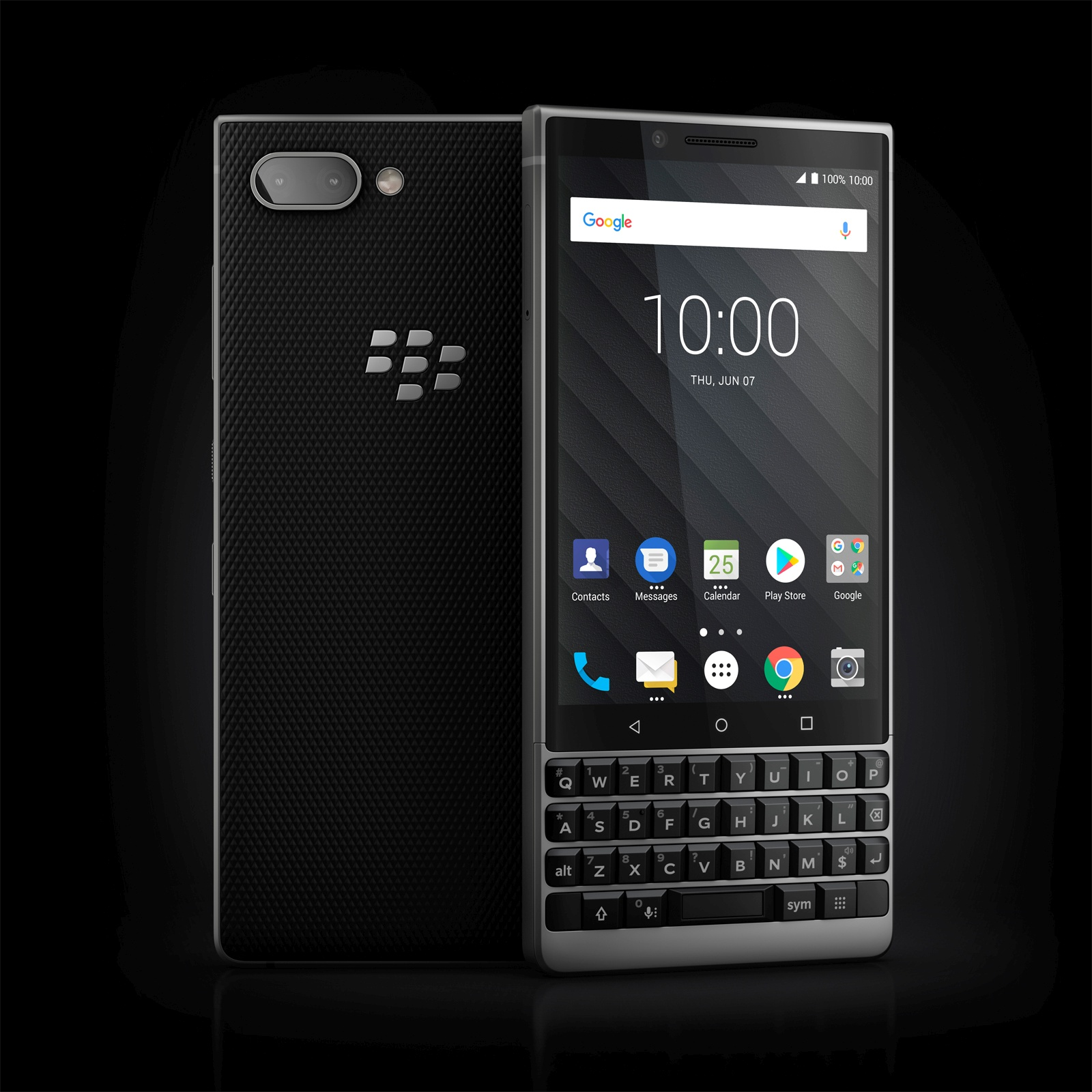 BlackBerry KEY2 - Srebrny