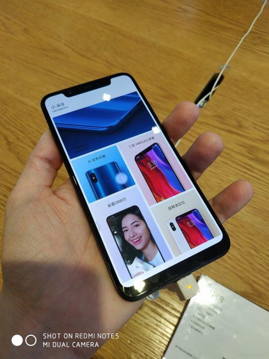 Xiaomi Mi 8 - ekran