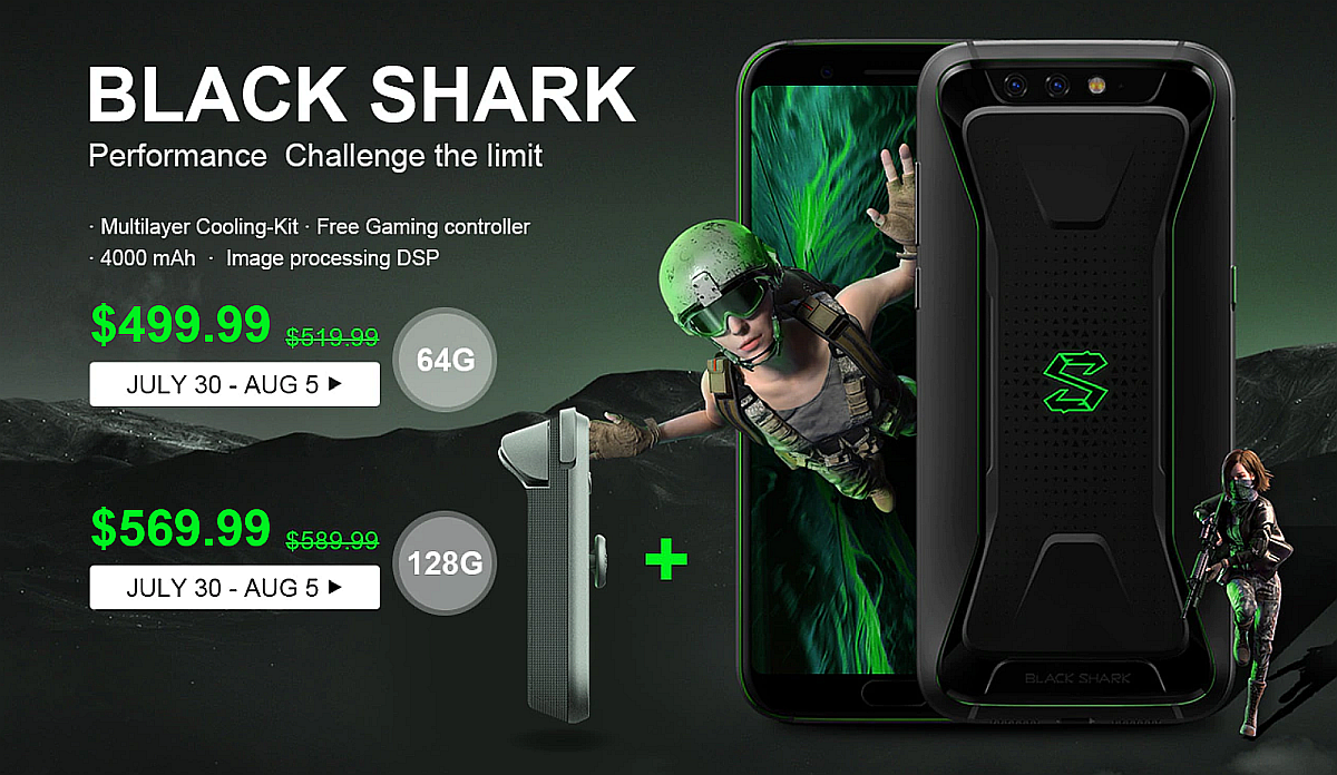Xiaomi Black Shark - promocja