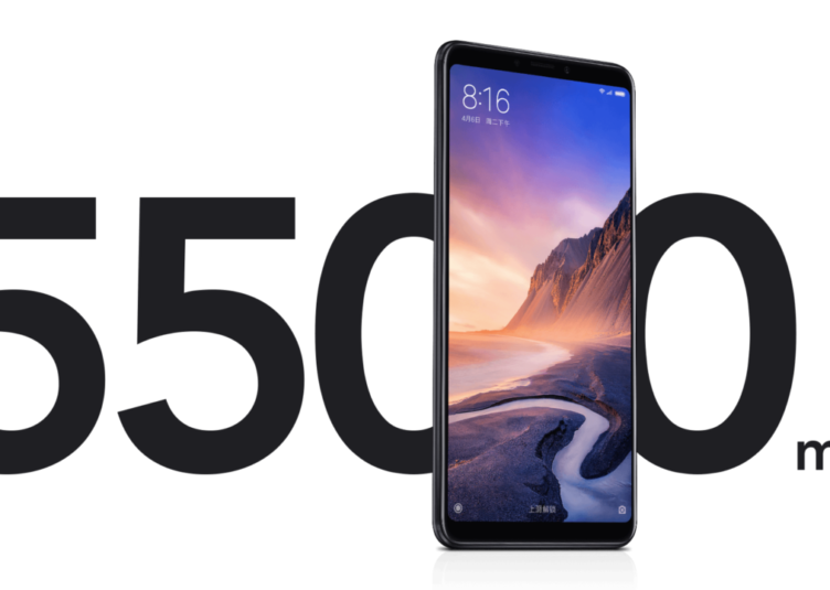 Xiaomi Mi Max 3 - bateria