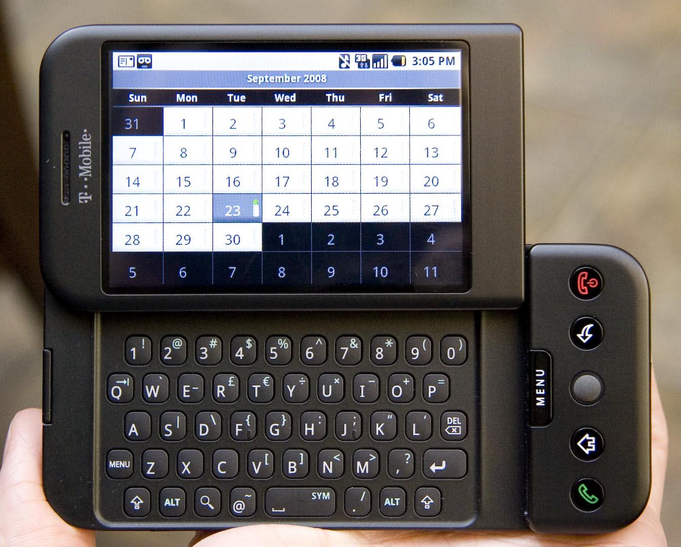 T-Mobile G1 / fot. Wikipedia